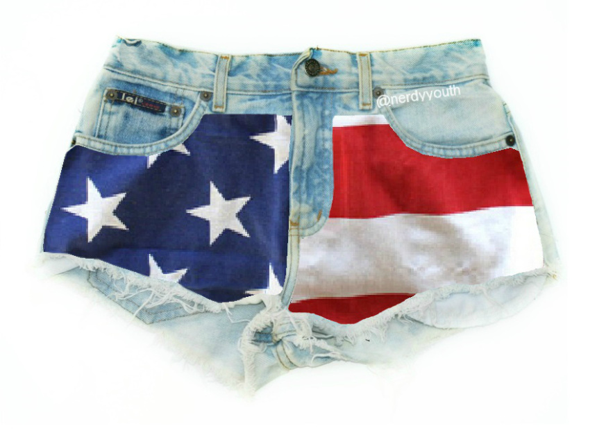 The 'USA' Shorts - Nerdy Youth