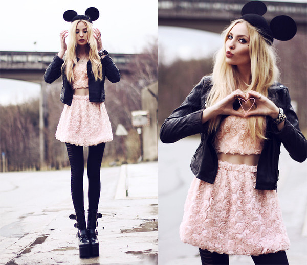 hat Choies asos nastygal hm mikey forever 21 skirt