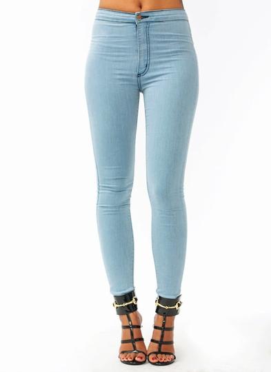 So-Much-Stretch-Skinny-Jeans LTBLUE - GoJane.com