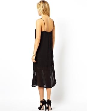 ASOS | ASOS Cami Dress With Embroidery Panels at ASOS