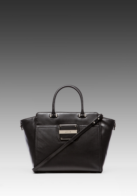 MILLY Colby Collection Tote in Black at Revolve Clothing - Free Shipping!