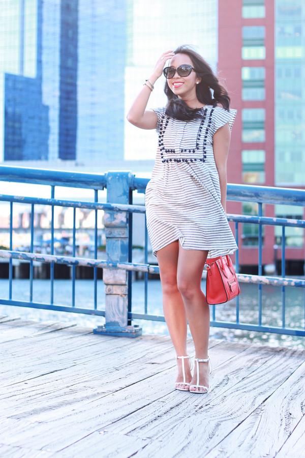 i am khatu shoes bag sunglasses jewels make-up dress