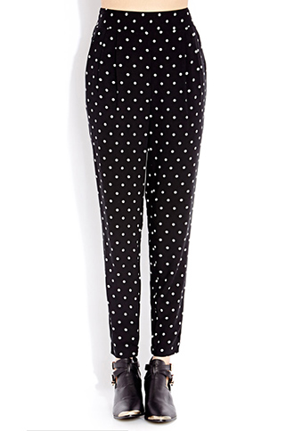 Darling Dots Trousers | FOREVER21 - 2000108106