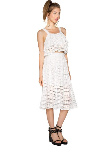White Lace Matching Separates -Two Piece Dresses - $89