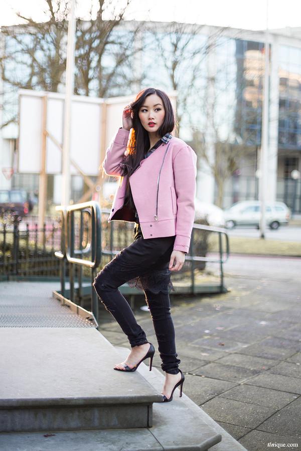 tlnique jacket skirt jeans jewels