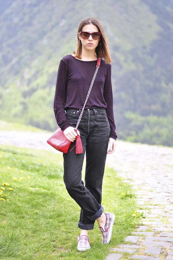 dansvogue sunglasses bag jeans shoes