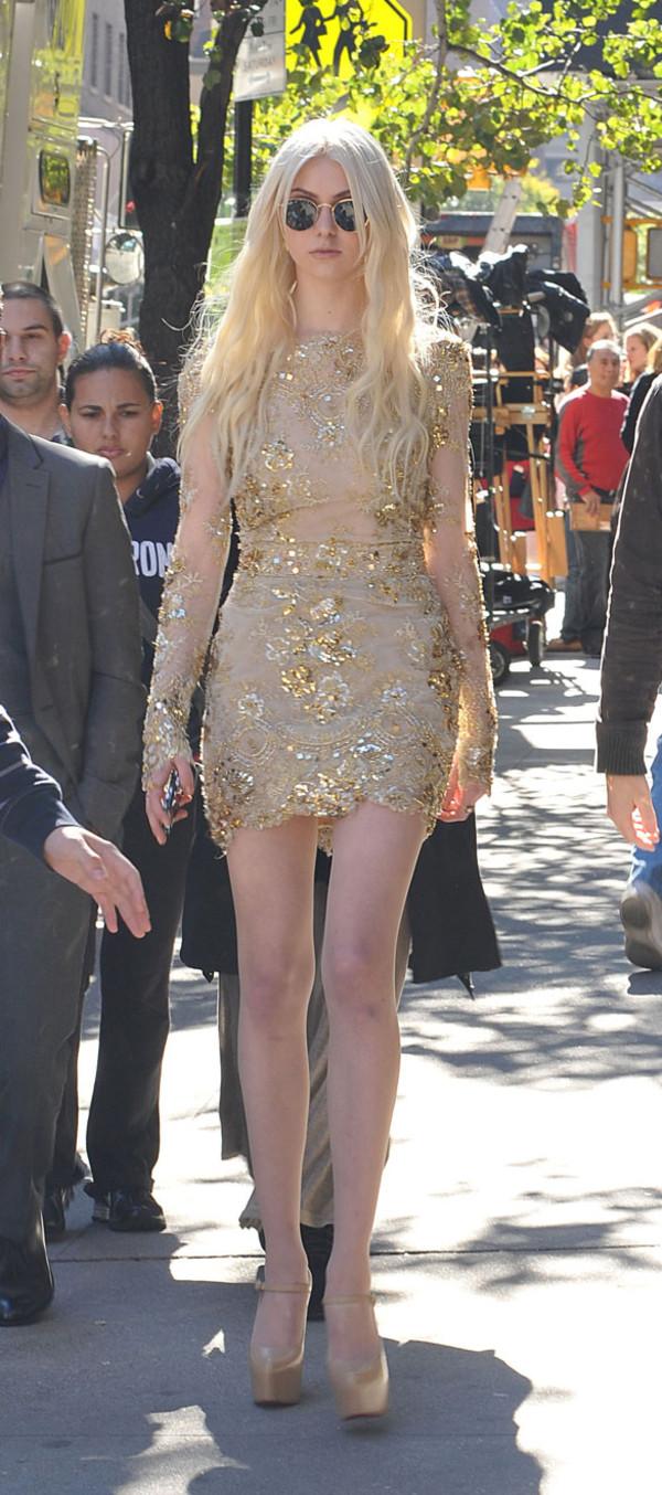 dress sequin dress glitter dress lace dress gossip girl taylor momsen