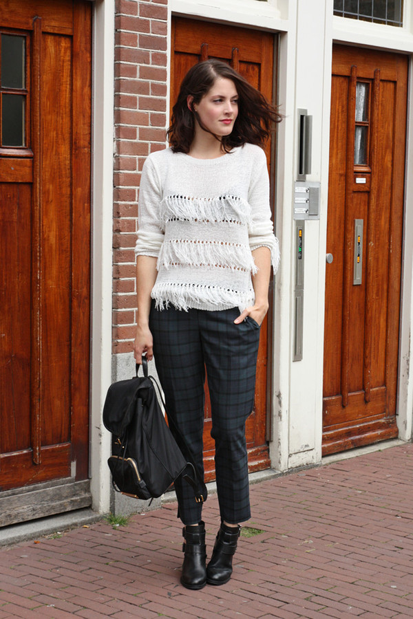 fashion fillers sweater pants shoes