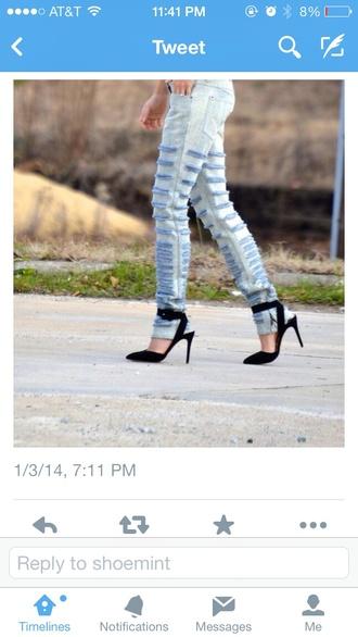 shoes shoemint buckle heels