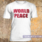 World peace t-shirt - teenamycs