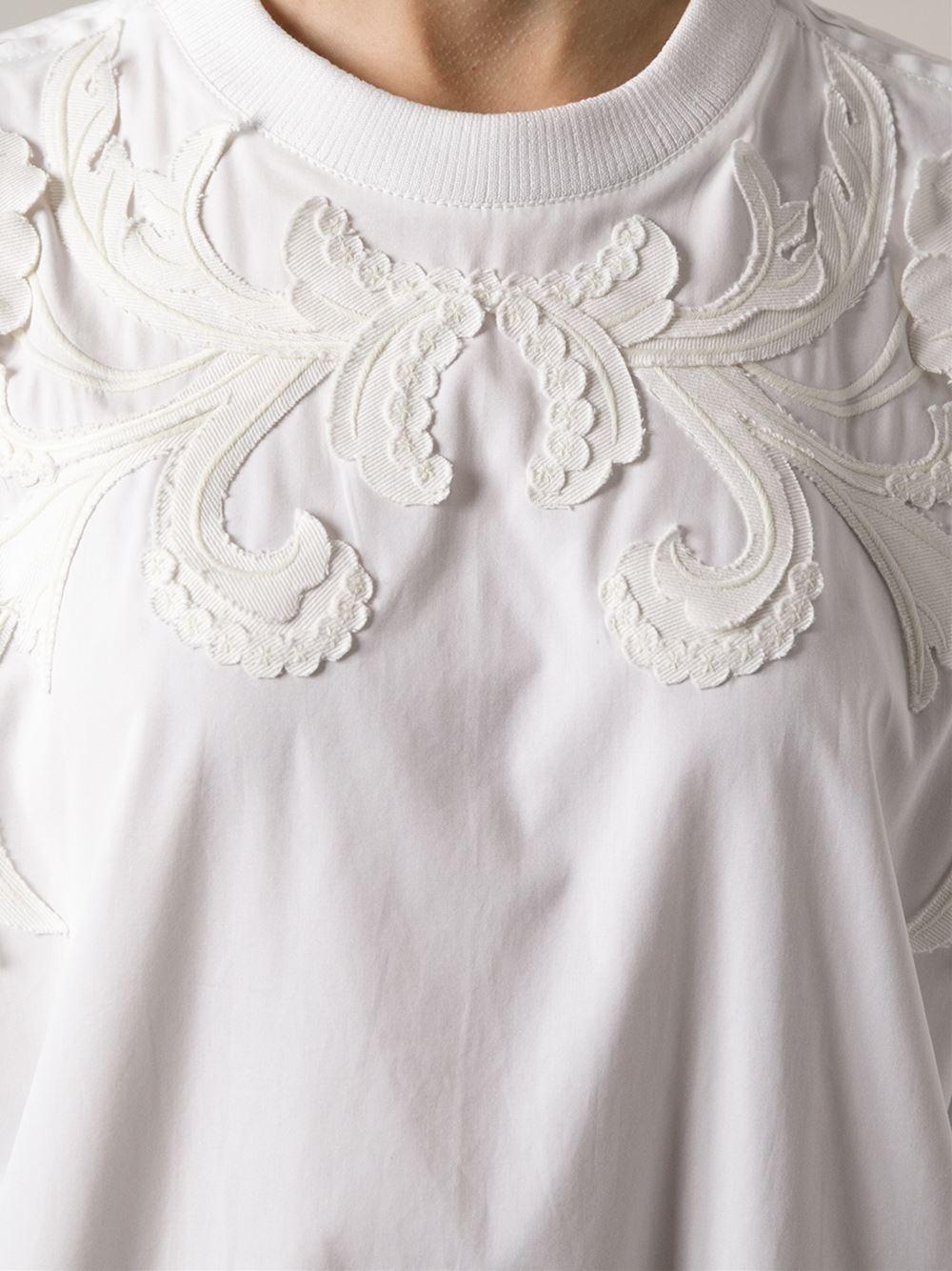Givenchy Floral Appliqued Sweatshirt - Jofré - Farfetch.com