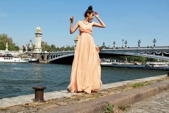 maxi denni chic muse brown dress dress