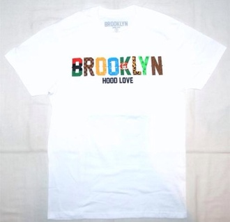 shirt brooklyn t-shirt mens t-shirt wonder woman new york city louis vuitton labels bk hoodie hood love
