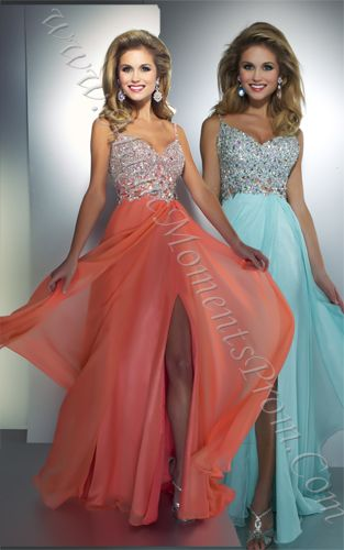 MagicMomentsProm.com |  Cassandra Stone 64364A Crystal Beaded Long Prom Gown