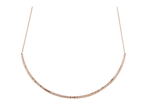gorjana Taner Collar Shimmer Necklace Rose Gold - Zappos.com Free Shipping BOTH Ways