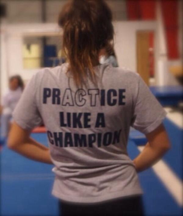 shirt grey sportswear top t-shirt black grey t-shirt gym gym clothes fitness fitness fitness practice practice like a champion act like a champion t-shirt grey blue