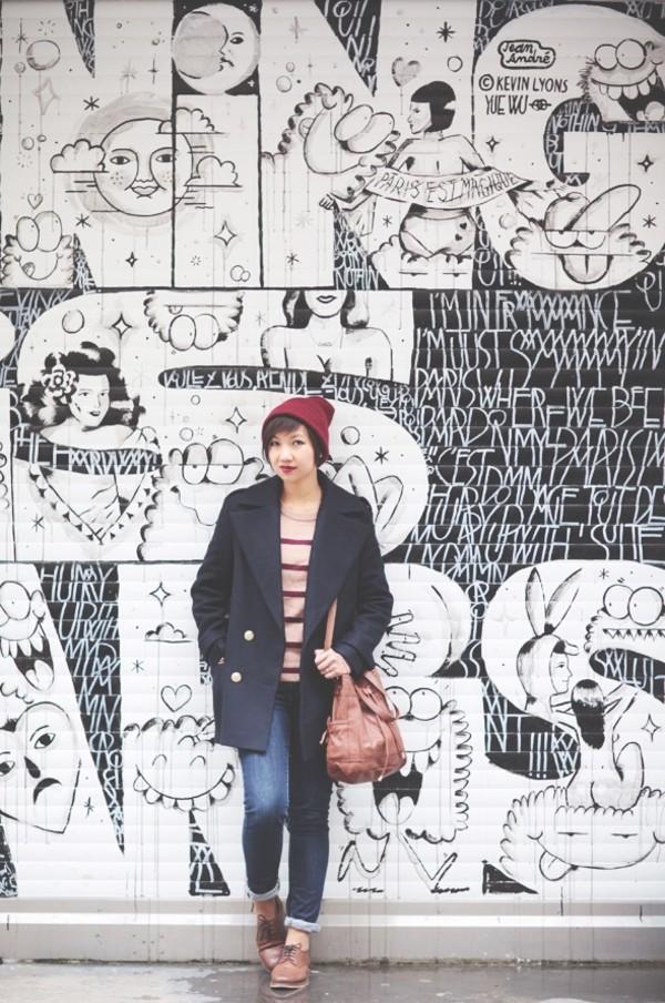 le monde de tokyobanhbao hat coat sweater jeans bag