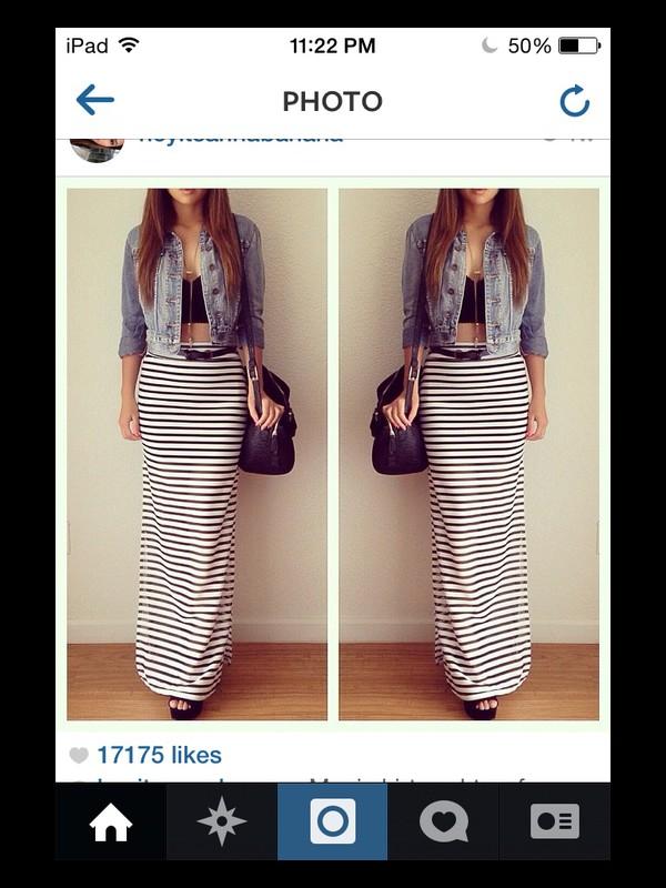 skirt maxi skirt denim jacket cute jacket top gemma styles harry styles