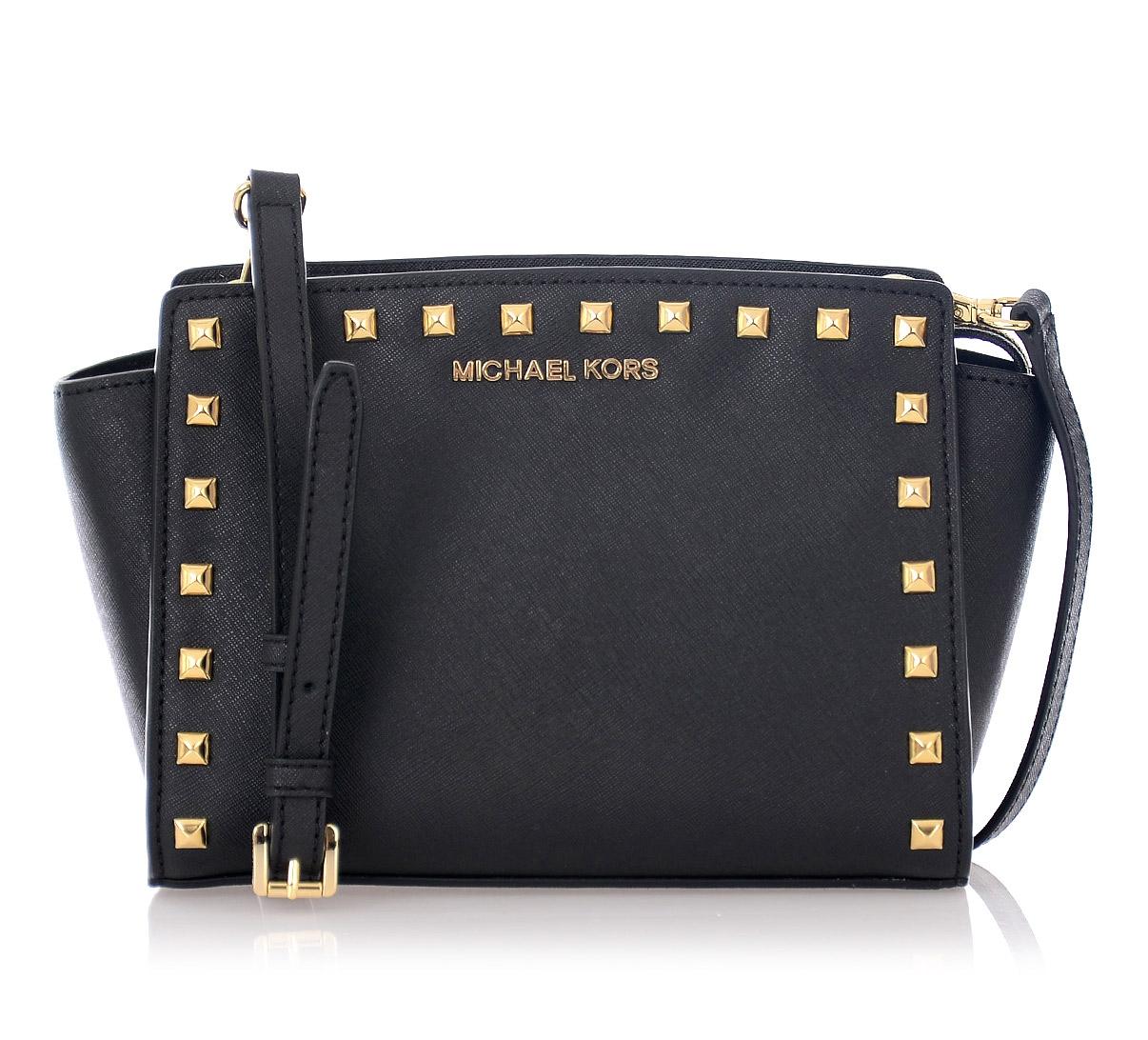 MICHAEL Michael Kors Studded Mini Leather Bag — Emporium Baku Online
