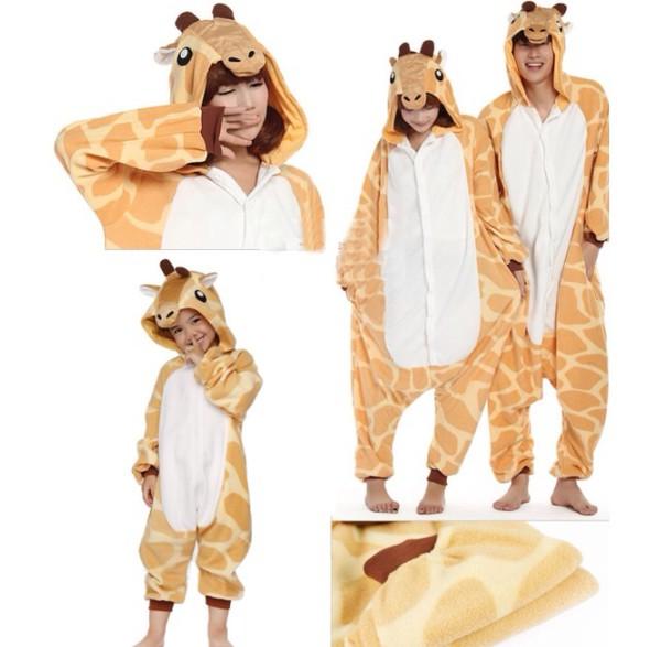 pajamas giraffe footie pajamas onesie kids fashion
