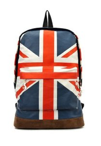 Hei UK Outdoor Sports and Leisure Bags of Rice Union Jack Backpack Men and Women Pack Shoulder Bag: Amazon.co.uk: Sports & Outdoors