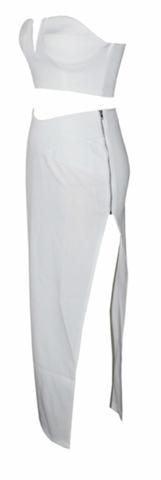Raw Glitter | Raquel 2-Piece Bustier Dress - Sexy Body-con Dresses | RawGlitter.com