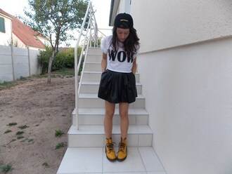 shoes drmartens fruity happiness yellow wow
