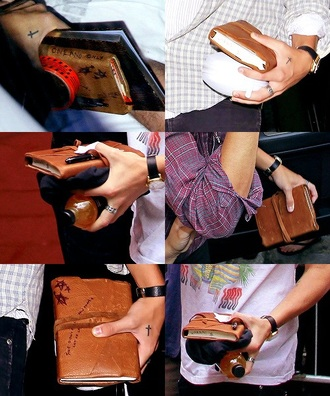 home accessory harry styles diary book let us love leather band one direction harry styles harry diary