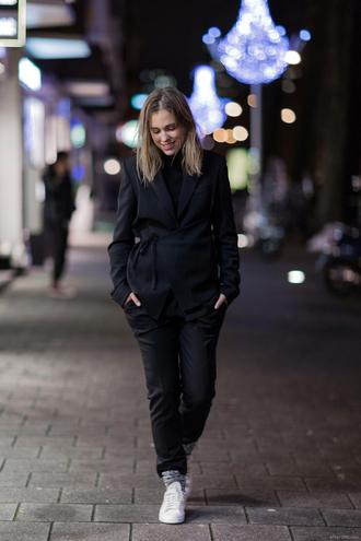 after drk blogger dress jewels jacket pants socks shoes sweater