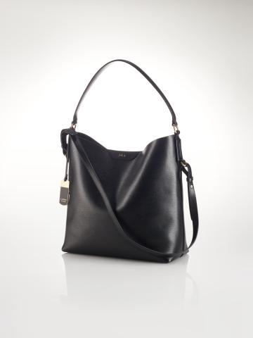 Tate Leather Hobo - Lauren Handbags   Handbags - RalphLauren.com
