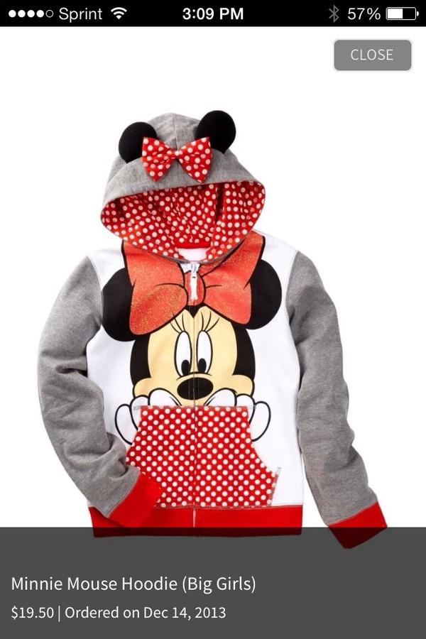 shirt minnie mouse