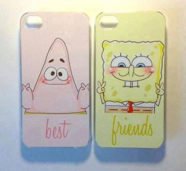 jewels bff phone phone cover spongebob