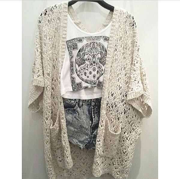 shorts t-shirt print ripped shorts jacket knitted jacket printed shirt tank top print tank top sweater shirt outfit outfit follow my instagram