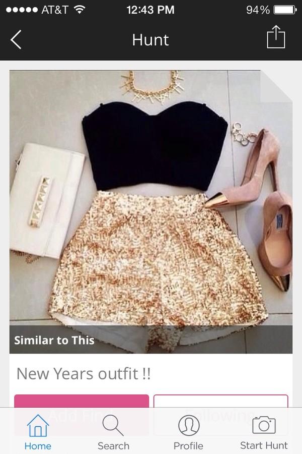 shorts gold glitter shorts sequins gold shorts
