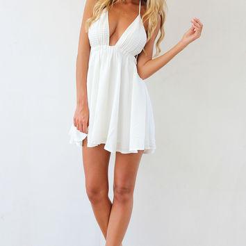 SABO SKIRT Nectar Dress - White - 58.0000 on Wanelo