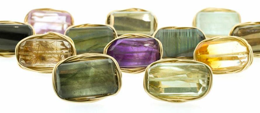 Handmade Designer Jewelry by Judith Bright: 14k Gold & Sterling Silver