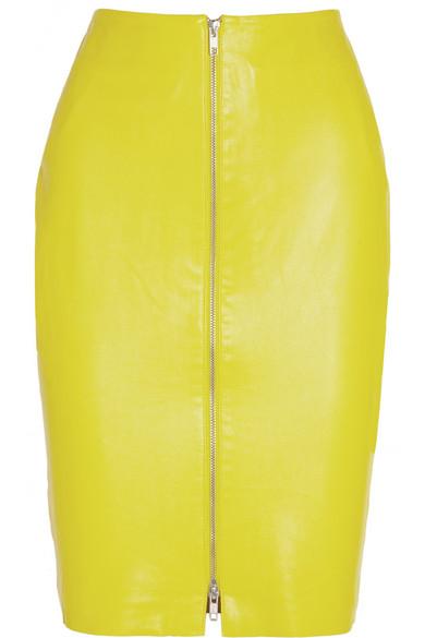 By Malene Birger|Eldiuna leather pencil skirt|NET-A-PORTER.COM