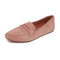 Jeffrey campbell maeve loafers - dark pink