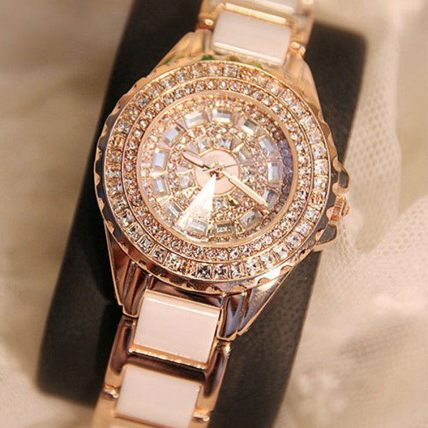 jewels watch fashion luxury white