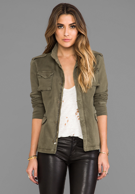 ANINE BING Army Jacket in Green at Revolve Clothing - Free Shipping!