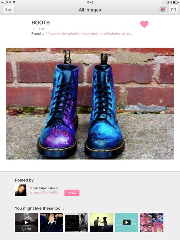 shoes galaxy print boots