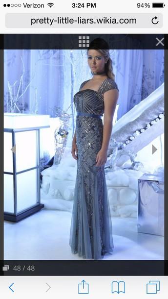 dress prom dress prom gown pretty little liars sasha pieterse
