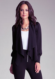 Bianca Coated Trench Coat - Most Wanted | bebe