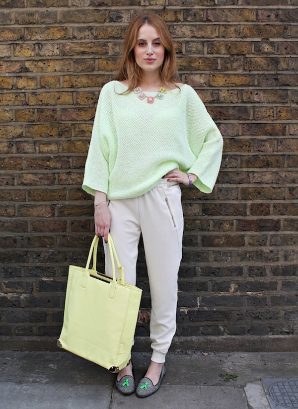 at fashion forte pants sweater jewels bag shoes