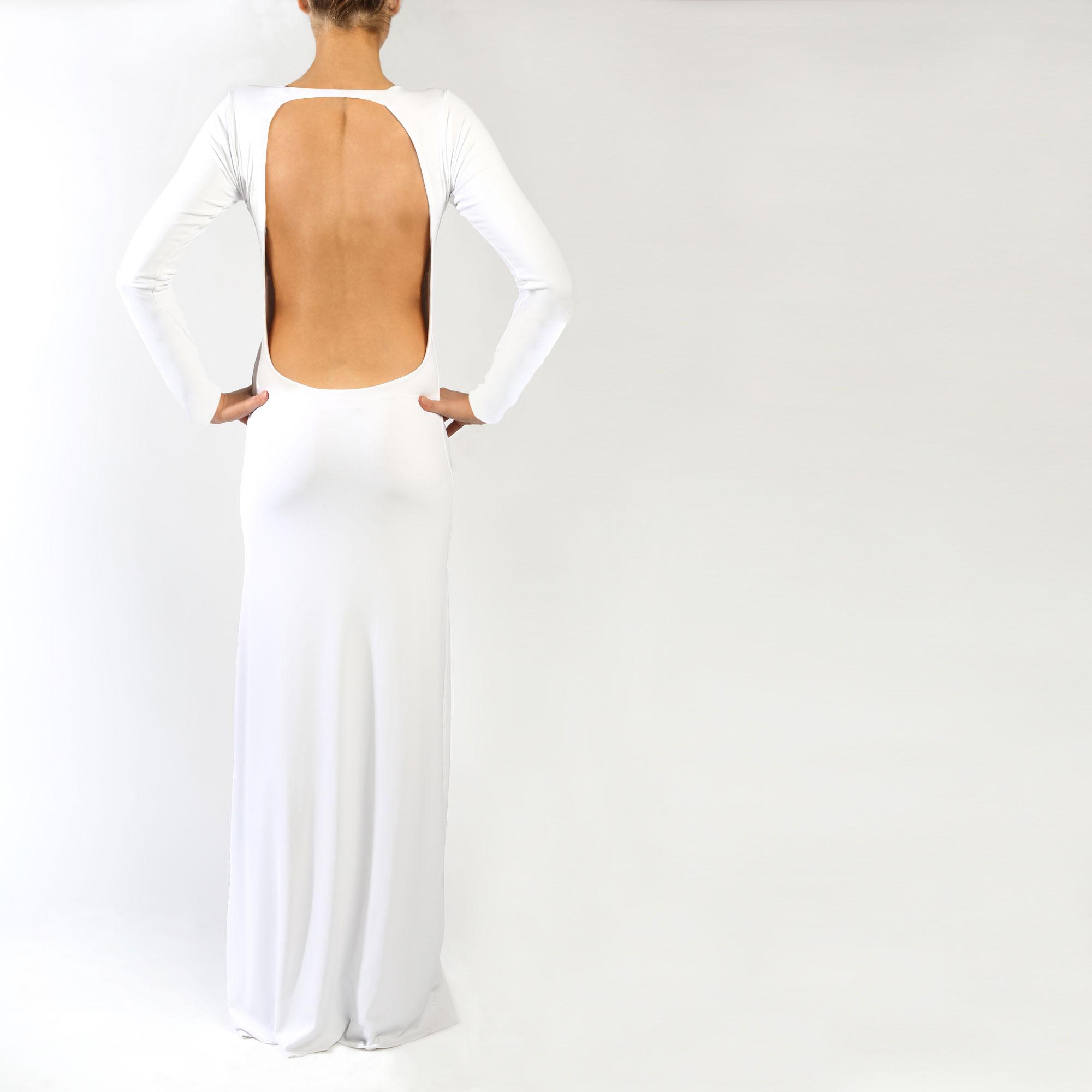 White - The Freya Maxi