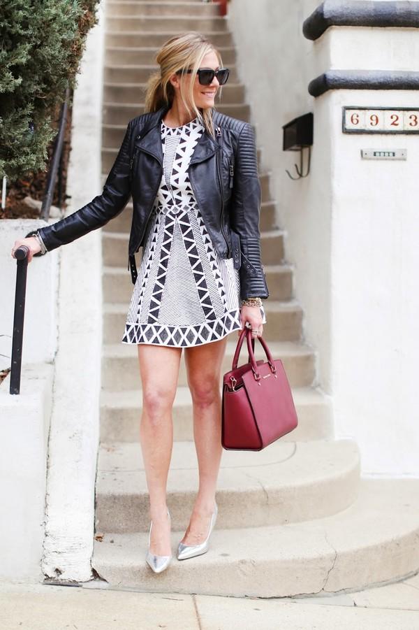 devon rachel jacket dress bag sunglasses shoes