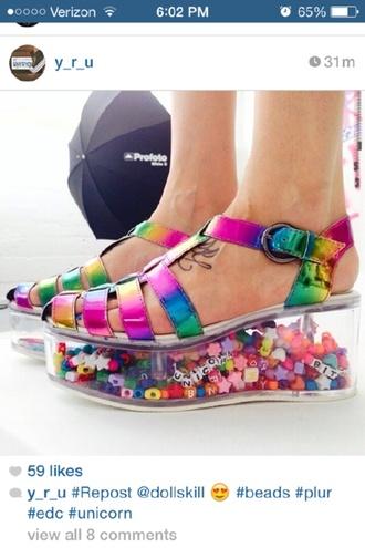 shoes kandi neon sex