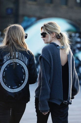 jacket sons of williams coat blonde hair leather jacket leather sons of anarchy cara delevingne