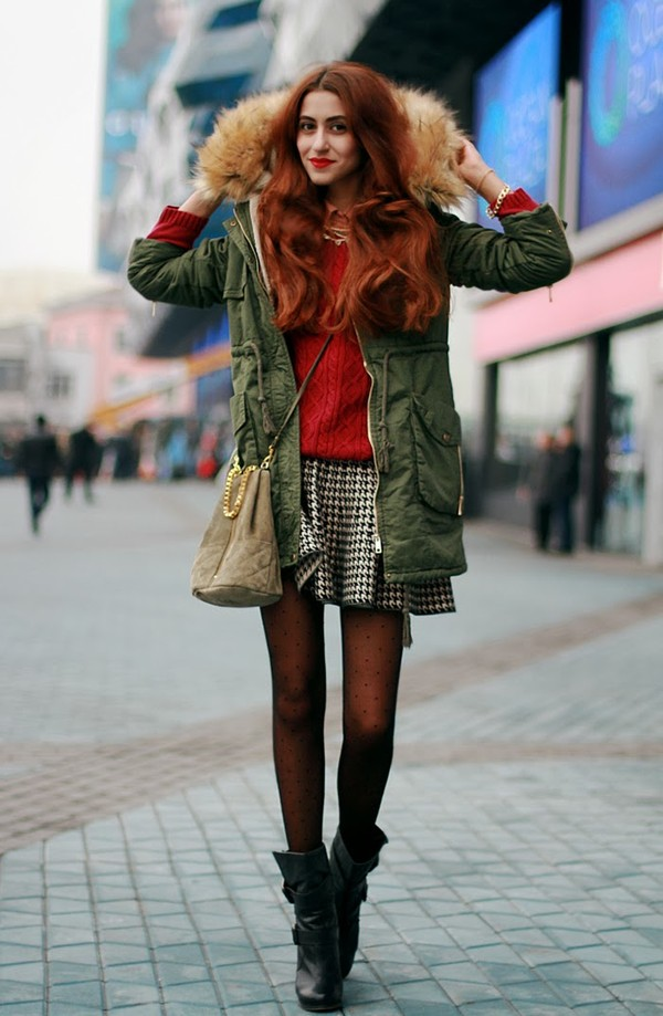 tina sizonova coat skirt sweater jewels bag shirt shoes