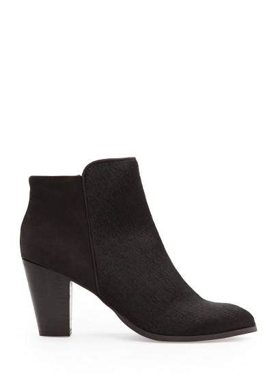 MANGO - Shoes - Boots, Booties - Combi leather ankle boots
